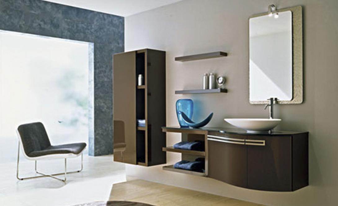 Arredamenti bagno mobile bagno sospeso cm con cassetti e lavabo in ceramica berlin grigio with - Mobili bagno como ...