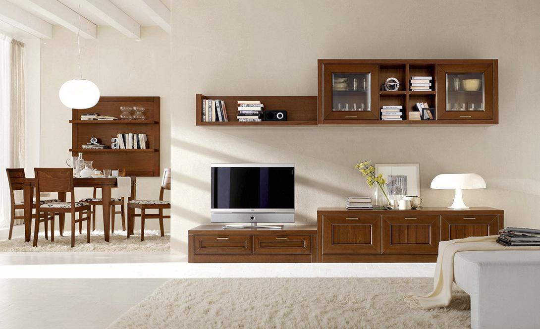Soggiorni luciano centomo arredamenti for Arredamento classico moderno soggiorno