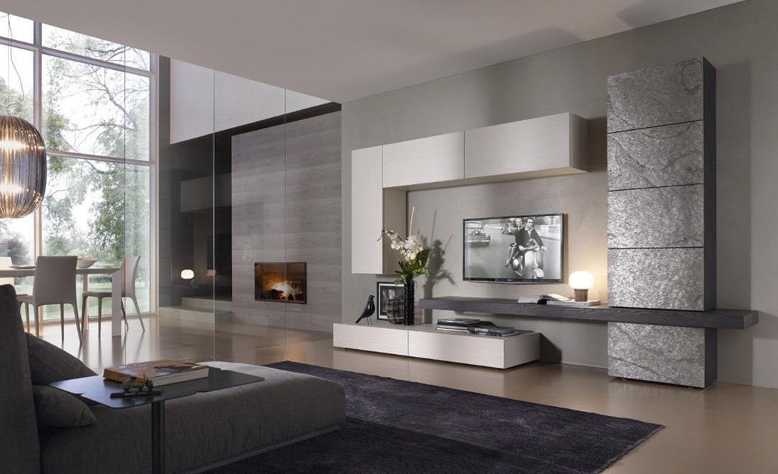 Soggiorni luciano centomo arredamenti for Composizione soggiorno moderno