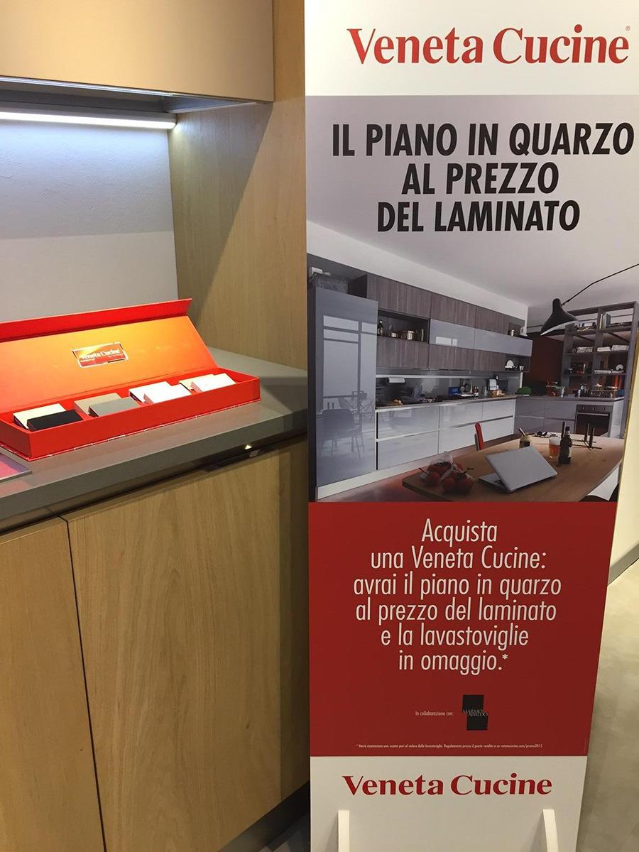 Piano In Quarzo Veneta Cucine.Promo Veneta Cucine Centomo Arredamenti