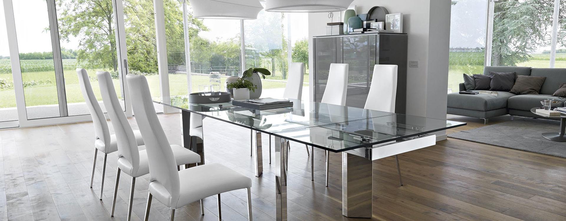 Tavoli e sedie luciano centomo arredamenti verona for Padovani arredamenti
